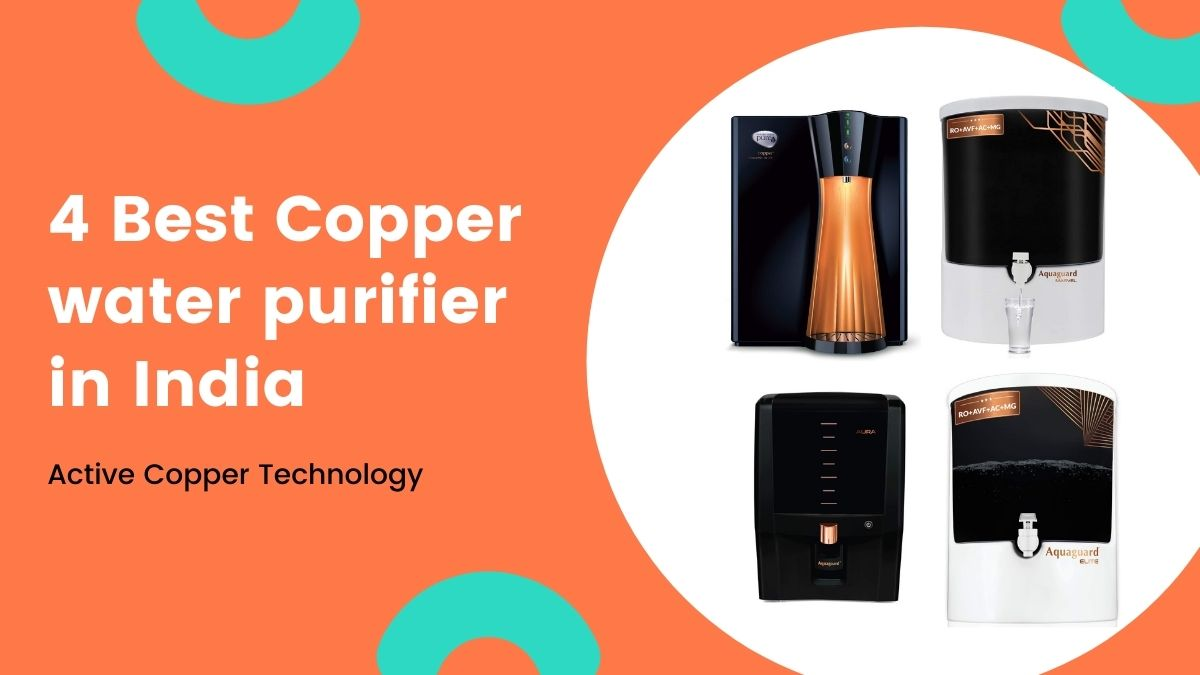 best copper water purifier in india