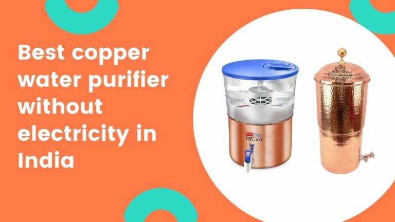 best copper water purifier without electricity