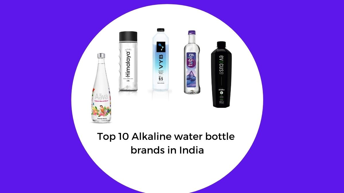 top and best alkaline water bottle brands in india for home and travel and party