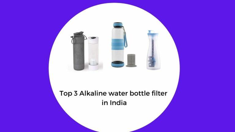 best alkaline water bottle filter in India