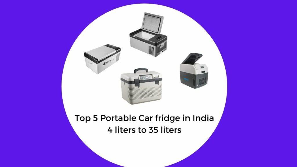 best portable car fridge in india